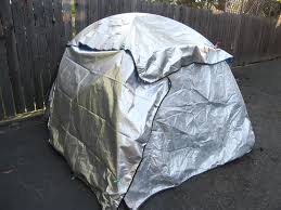 tent space blanket