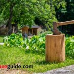 How to Split Wood With an Ax & Chopping Block for Splitting