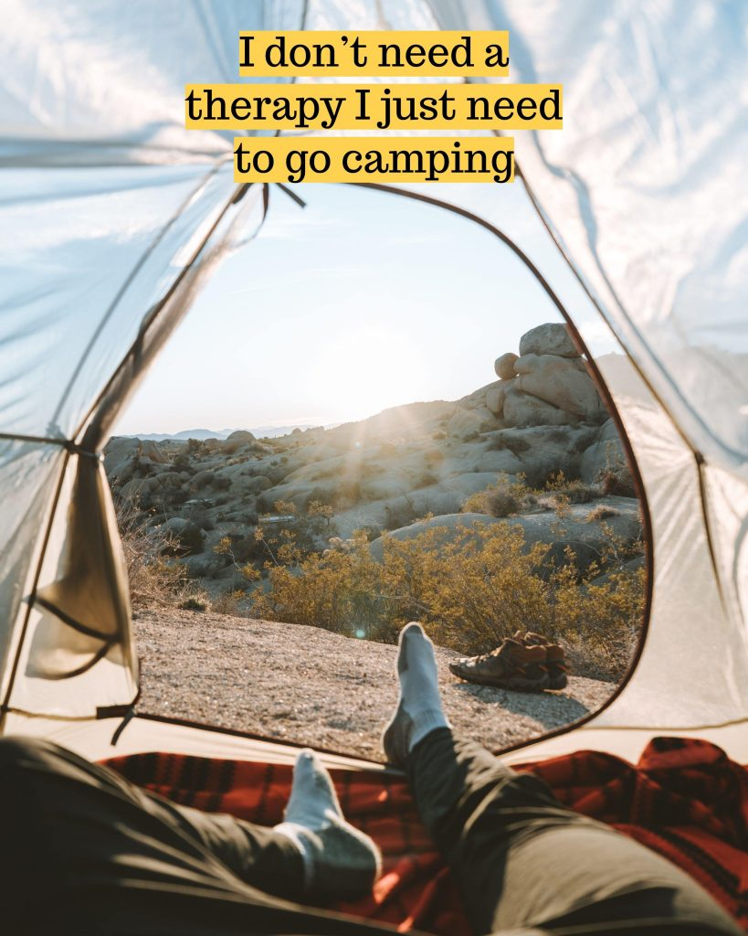 camping- hastags